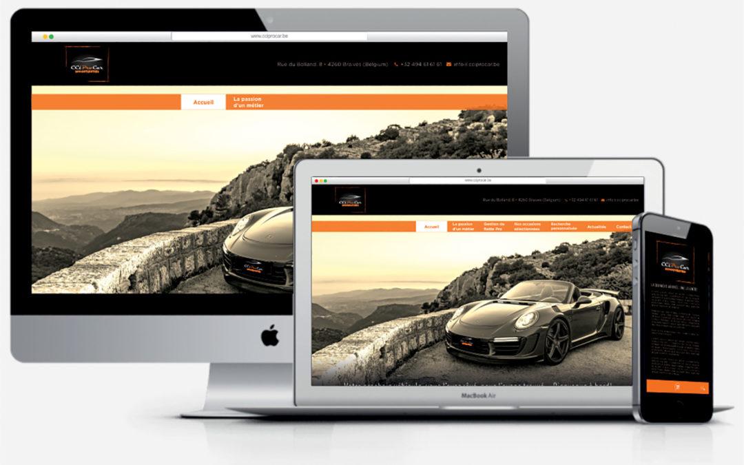 Un nouveau site pour CCi Pro Car !